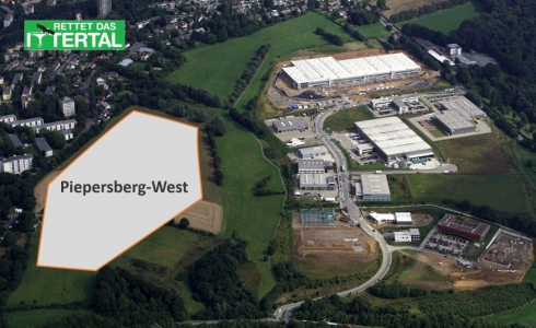 Luftbild von Piepersberg-West
