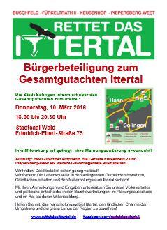 Flugblatt Bürgerbeteiligung