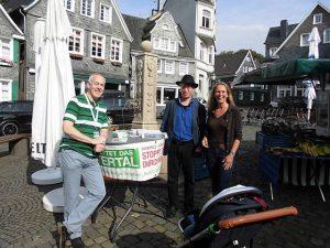 v.l.: Christian Robbin (BIRDI), Dietmar Gaida (B90/G), Meike Lukat (WLH)