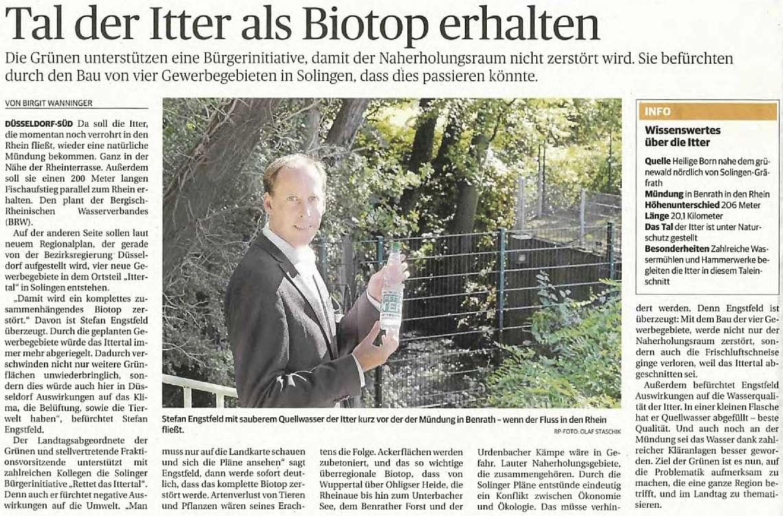 Stefan Engstfeld MdL: Ittertal als Biotop-Verbund erhalten