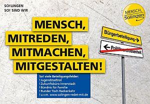 Leitlinien für Bürgerbeteiligung in Solingen