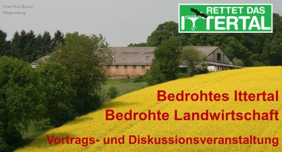 Veranstaltung: Gewerbegebiete bedrohen regionale Landwirtschaft