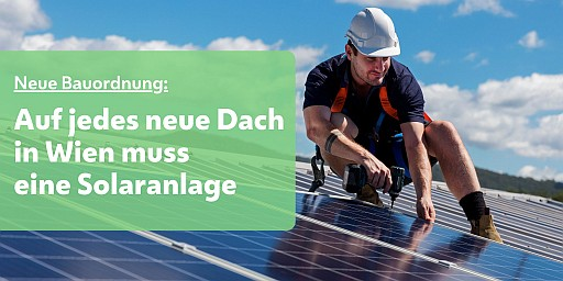 Solardachpflicht in Wien