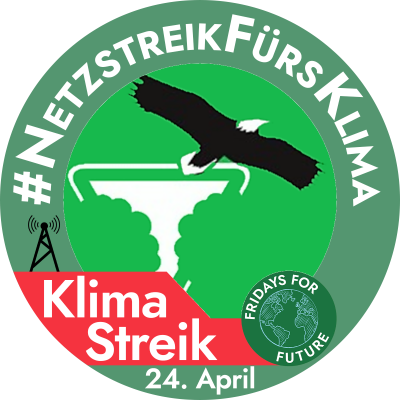 online Klimastreik am 24. April