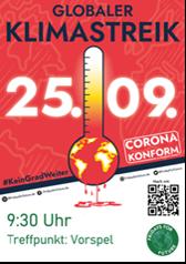Globaler Klimastreik am Fr. 25.09.