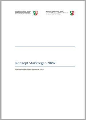 Konzept Starkregen NRW-Titelbild 2016